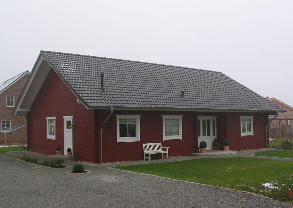 Haus norderoogsand helios holzh user for Ebenerdiges haus bauen